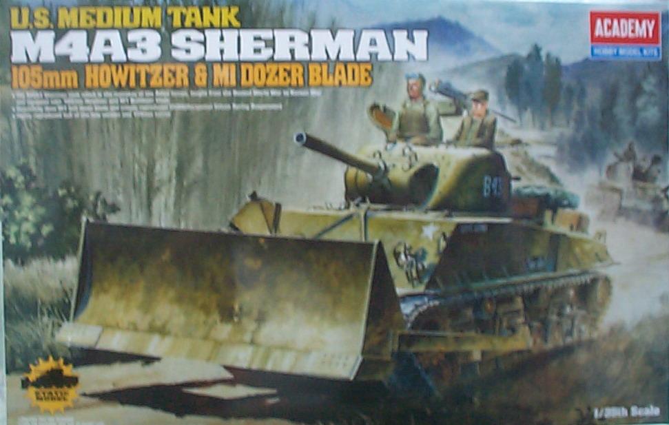 1/35 U.S. M4A3 SHERMAN 戰車13207