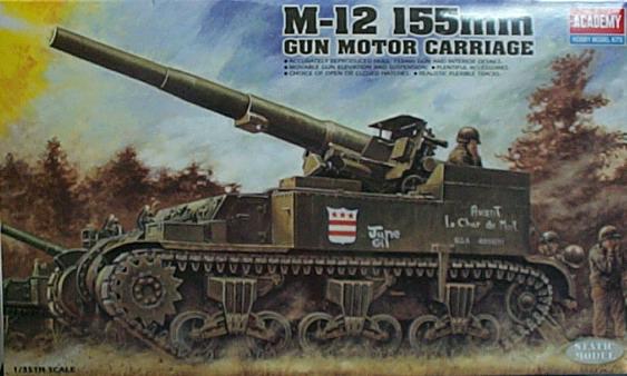 1/35 M-12 155MM GHN CARRI 1394