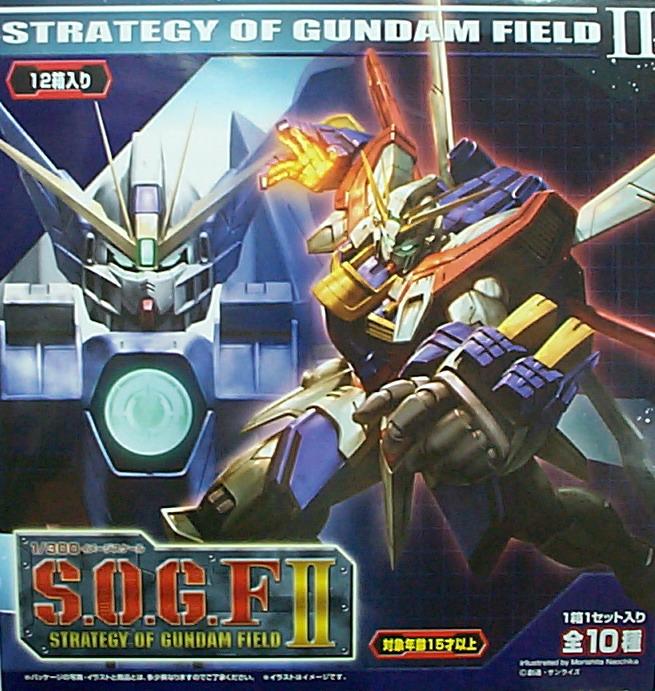 (盒玩) 1/300 S.O.G.F II