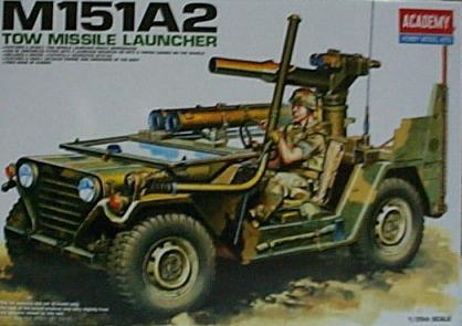M151A2 TOW MISSILE EAUNCHER