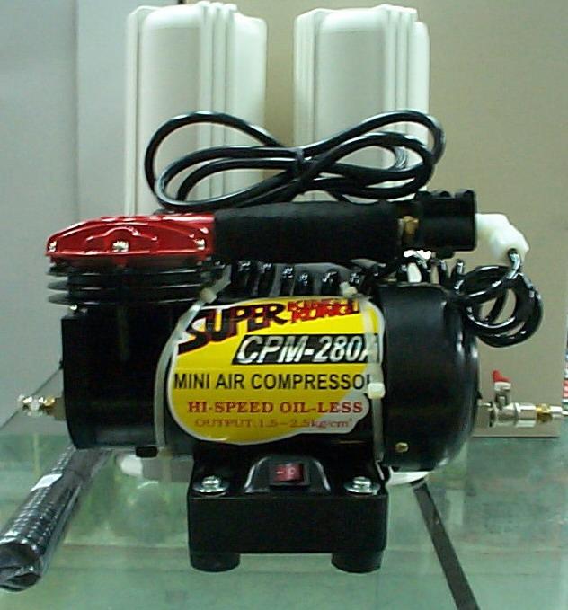 仙盈空壓機  黑金鋼CPM-280A直立式全淨化空壓機