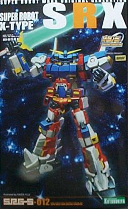 機器人大戰012 SUPER ROBOT SRX