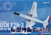 "AC12548 1/72 USN F2H-3 VF-41""BLACK ACES"""