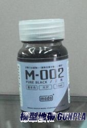 魔技研漆 M-002 亮光黑